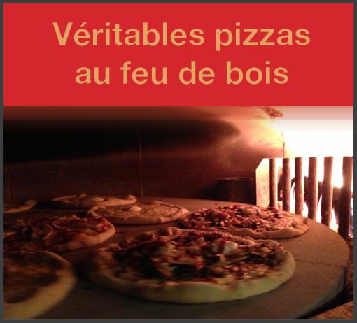 Restaurant Au Feu De Bois - Livraison pizza domicile Chantilly LA PREGO